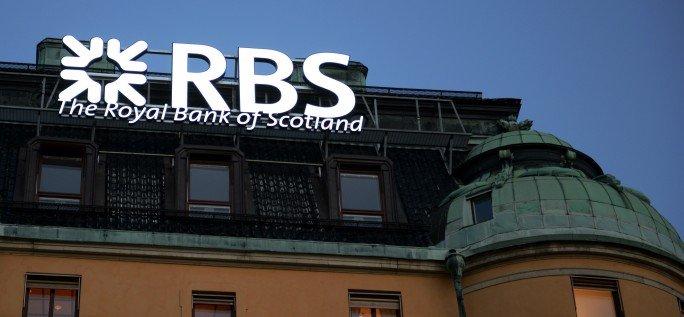 RBS Led skyltar i bankens byggnad med FocusNeo