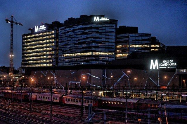 Mall of scandinavia Led skyltar med FocusNeo i Stockholm