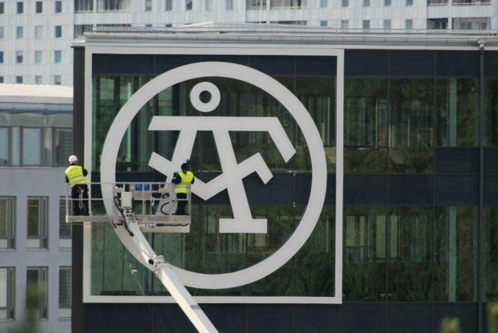 AF large skyltservice av FocusNeo