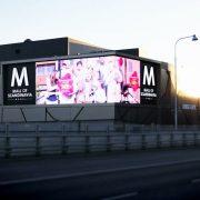 Focus LED-display Mall of Scandinavia