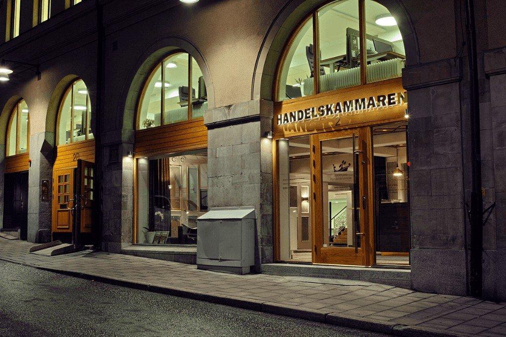 Led skyltar Utomhus Handelskammaren av FocusNeo i Stockholm