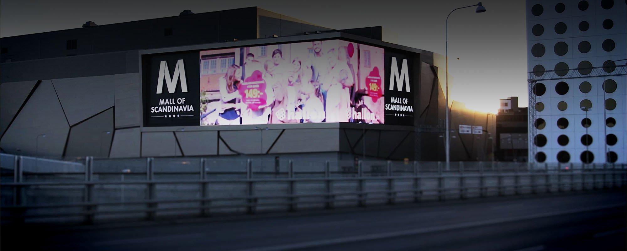 Tillverkare av skyltar i Stockholms köpcentrum| FocusNeo