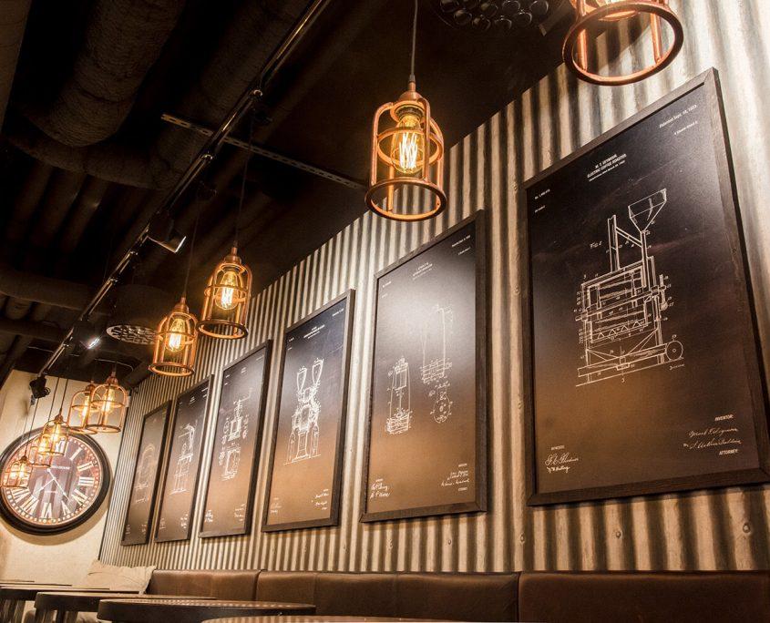 Espresso House printade tavlor