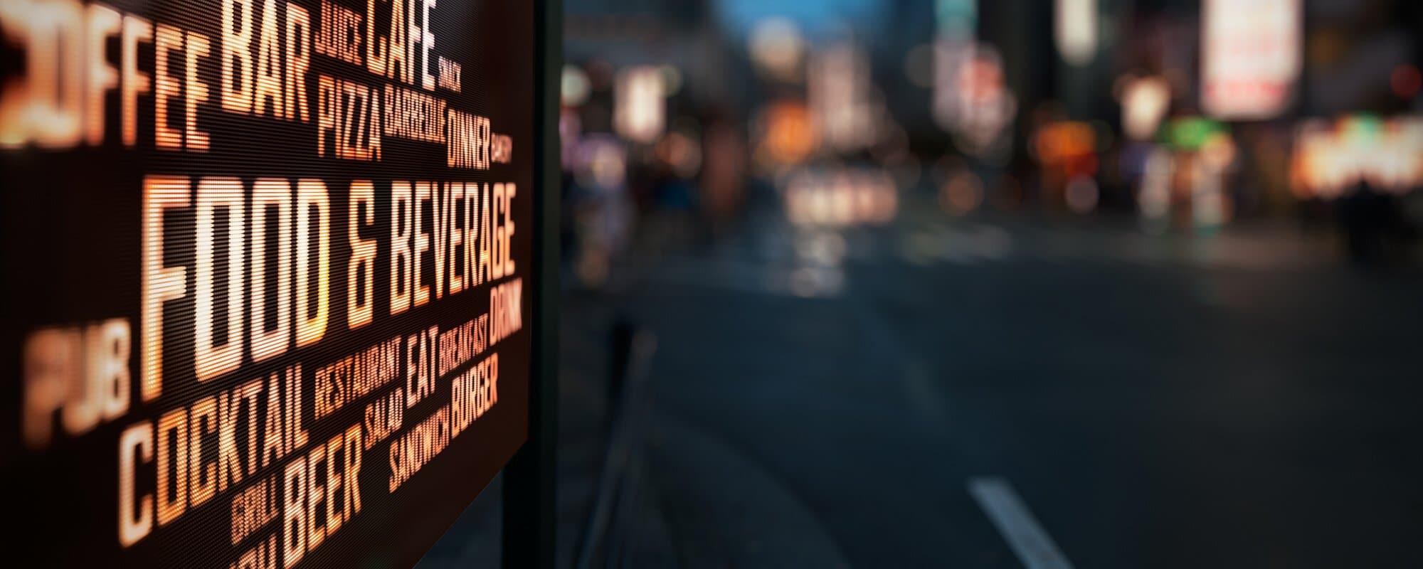 Basta skyltar av skyltföretag | FocusNeo
