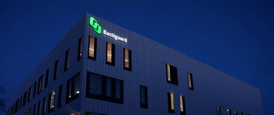 Bactiguard fasadskyltar av skyltföretag | FocusNeo