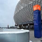 Pyloner och stolpskyltar i Stockholm | FocusNeo