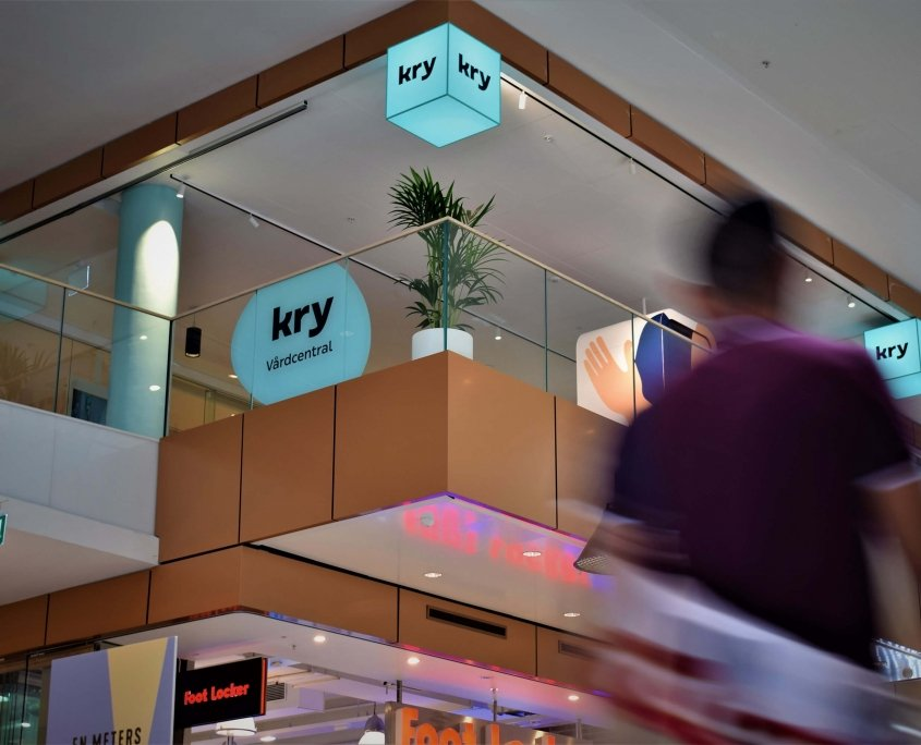 Kry Gallerian LED-kuber FocusNeo